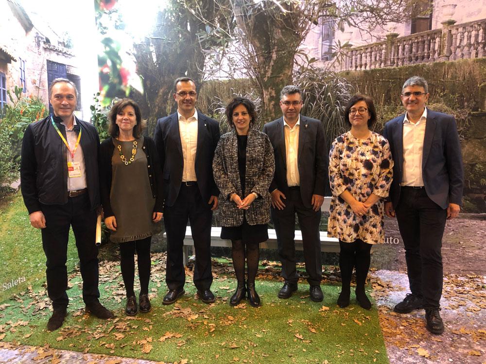 El geodestino Ría de Vigo e Baixo Miño arranca en Fitur 2019 su Plan Estratégico de Turismo