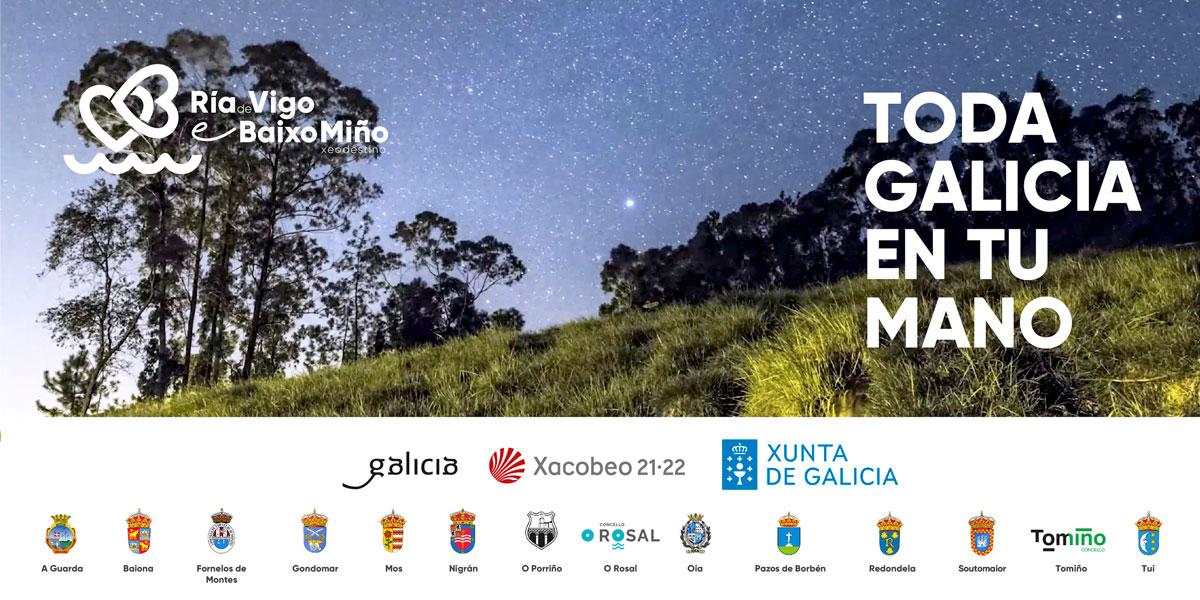 El geodestino Ría de Vigo e Baixo Miño se prepara para sorprender con sus nuevos productos en FITUR