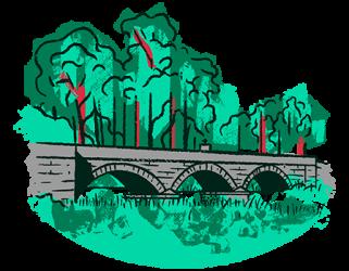 Patrimonio oculto: Ponte do río Tamuxe